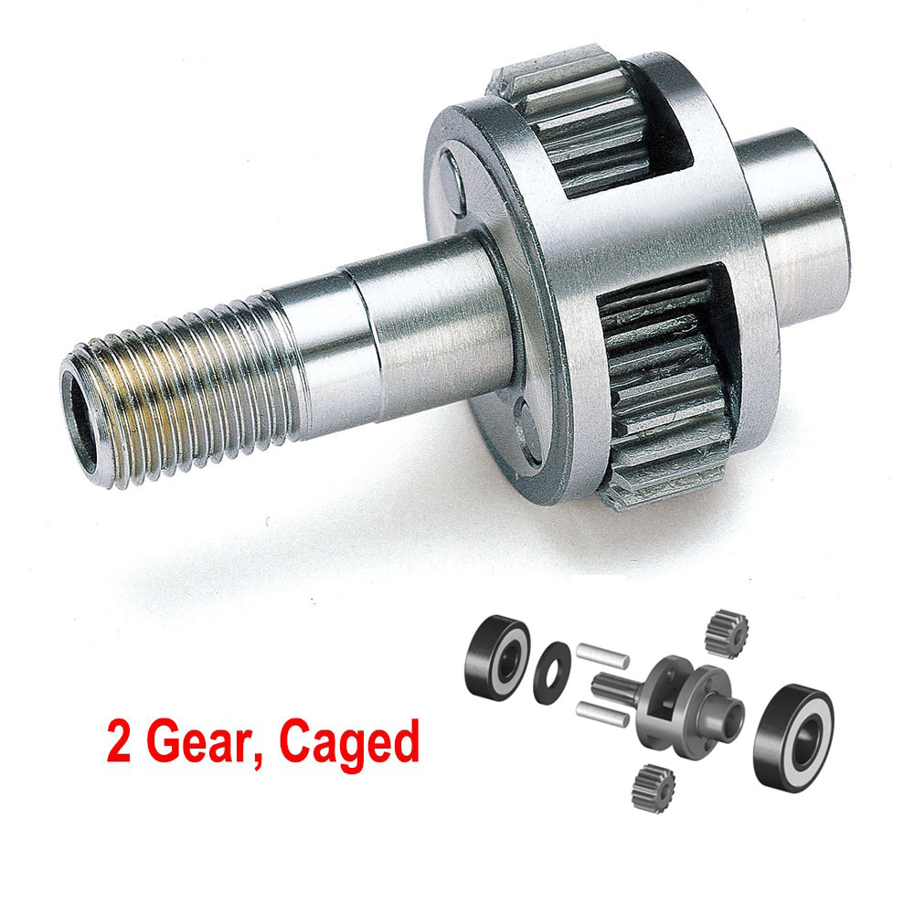2 gear ,caged