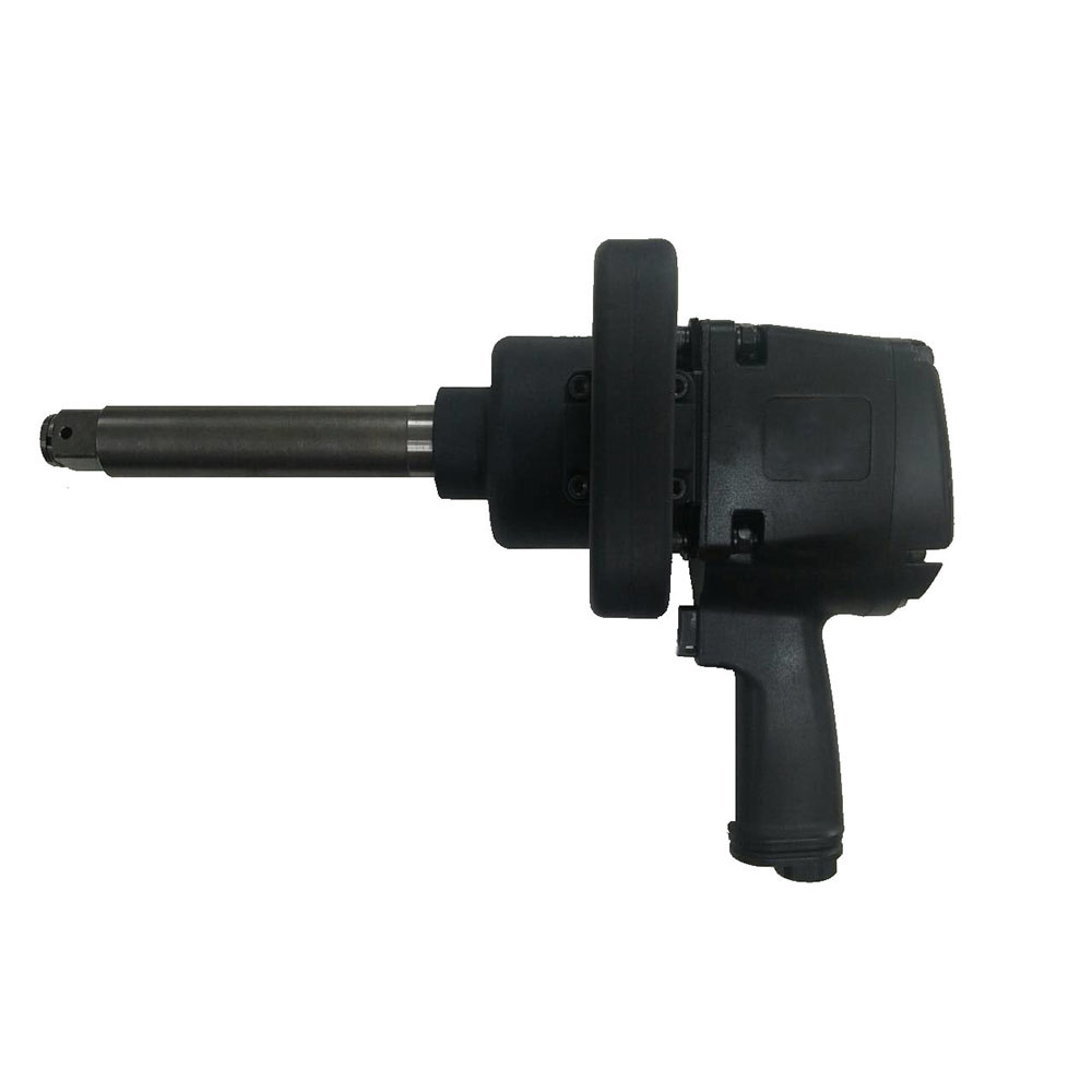 "Model No.: 61066L 1"" Air Impact Wrench With Extended 6"" Anvil, 3,500RPM / 2,500Ft-lbs. (3,389Nm)"