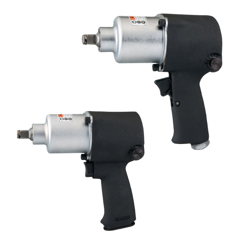 "Model No.: 6401 / 6402 ,1/2"" Air Impact Wrench, 7,600RPM / 550Ft-lbs. (745Nm) & 7,400RPM / 500Ft-lbs. (678 Nm)"