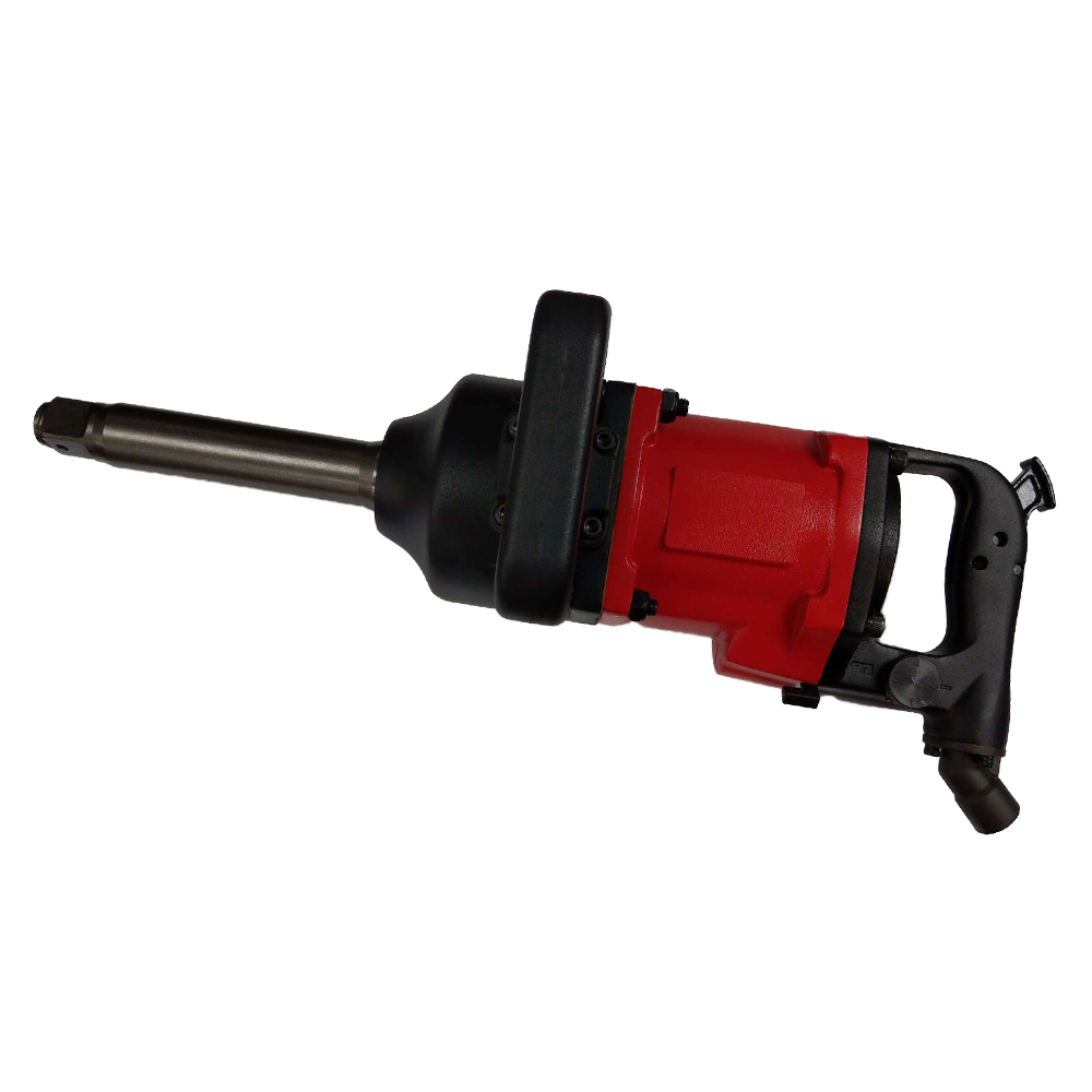 "Model No.: 61048L 1"" Air Impact Wrench With Extended 8"" Anvil, 3,200RPM / 3,000Ft-lbs. (4,065Nm)"